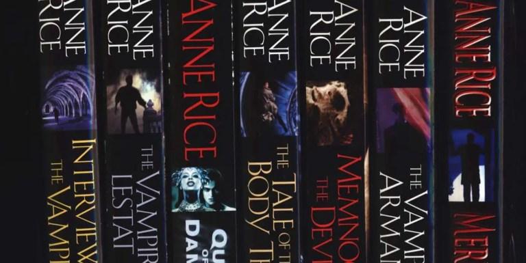 Parte de la obra literaria y fílmica de la autora Anne Rice.