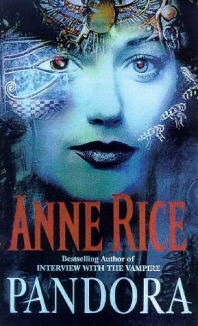 Arte de portada del libro Pandora.