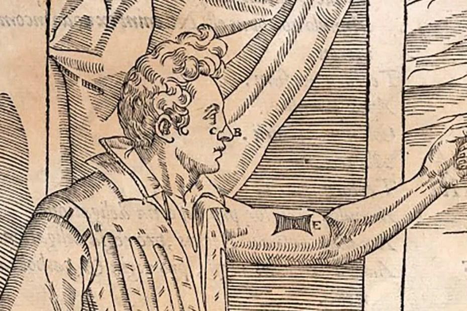 Imagen del De Curtorum Chirurgia per Insitionem.