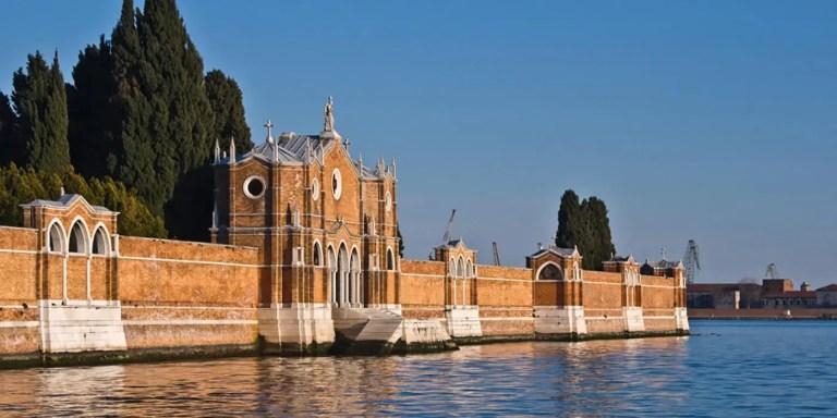 La isla de la muerte, San Michele el cementerio de Venecia