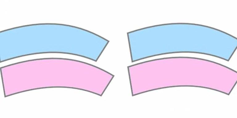 La perspectiva de Jastrow, cuando dos tamaños iguales parecen distintos