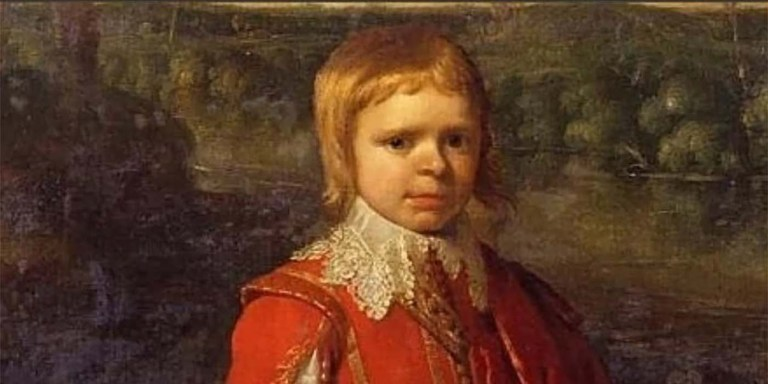 Retrato de Jeffrey Hudson.