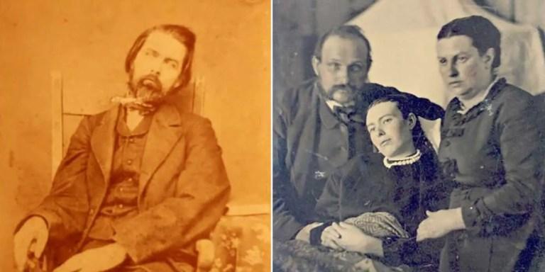 Dos imágenes de necrografías.