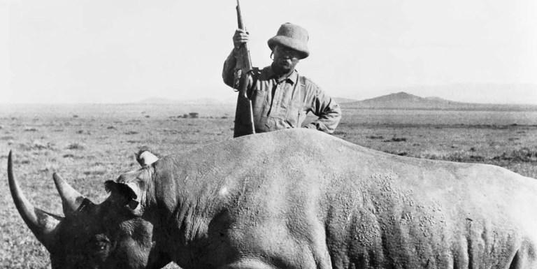 Los sangrientos safaris por África de Theodore Roosevelt