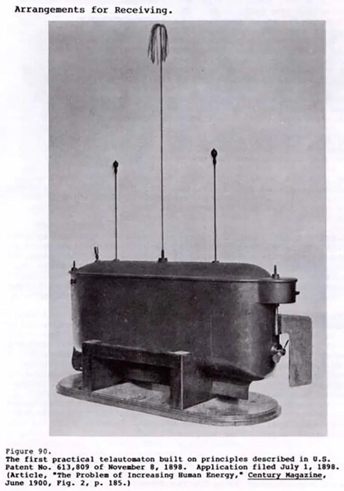 El Teleautomaton, el primer vehículo a control remoto.