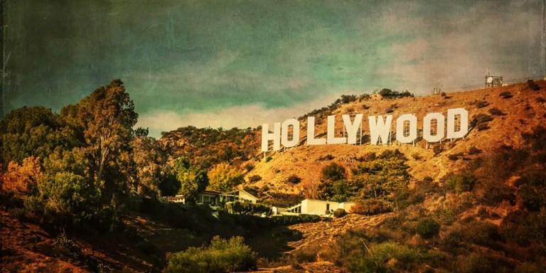 El famoso cartel de Hollywood.