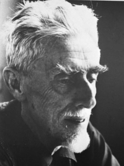Maurits Cornelis Escher en 1971 a la edad de 72 años.