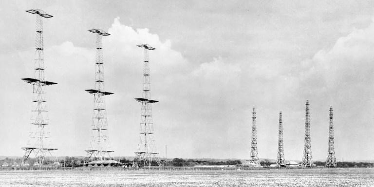 La historia del radar y los sistemas de detección aérea