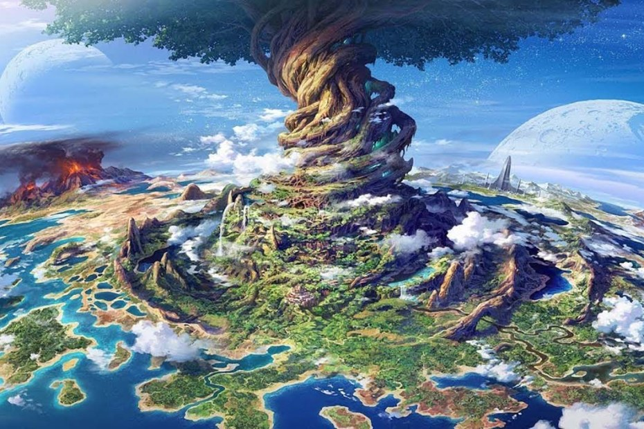 Yggdrasil, el árbol de la vida en la mitología nórdica y parte de los mitos de creación.