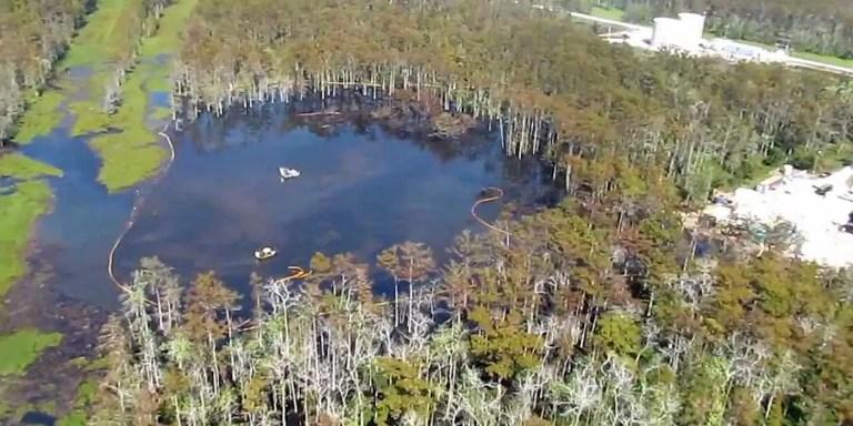 El desastre del lago Peigneur, un lago destruido por un error de cálculo