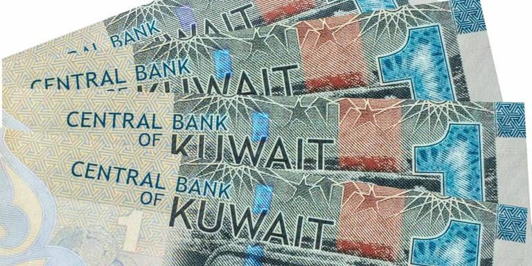 DInares de Kuwait, la moneda más valiosa del mundo.