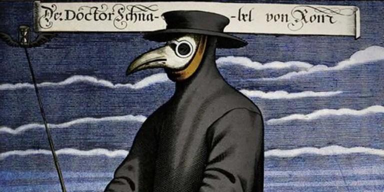 Las máscaras antiplaga de los médicos renacentistas de la peste