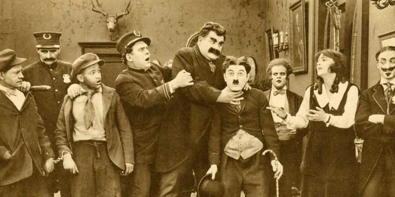 La película muda que usó a un falso Charles Chaplin