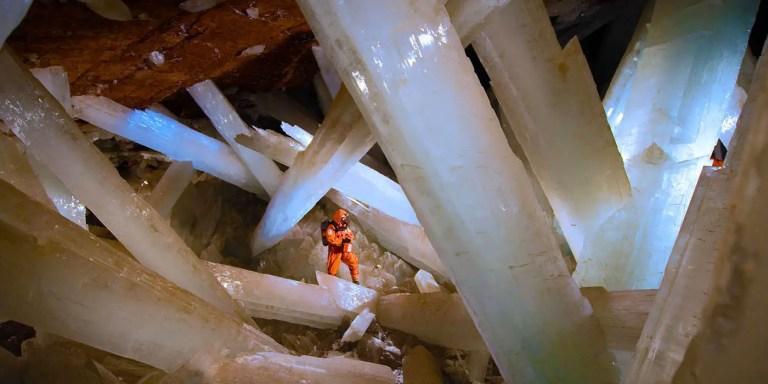 La Cueva de los Cristales de Naica, una formación sin paralelos