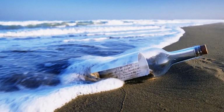El mensaje en una botella de 150 años de Chunosuke Matsuyama