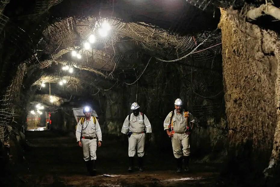Mina de East Rand en Sudáfrica, la mina más peligrosa del mundo.