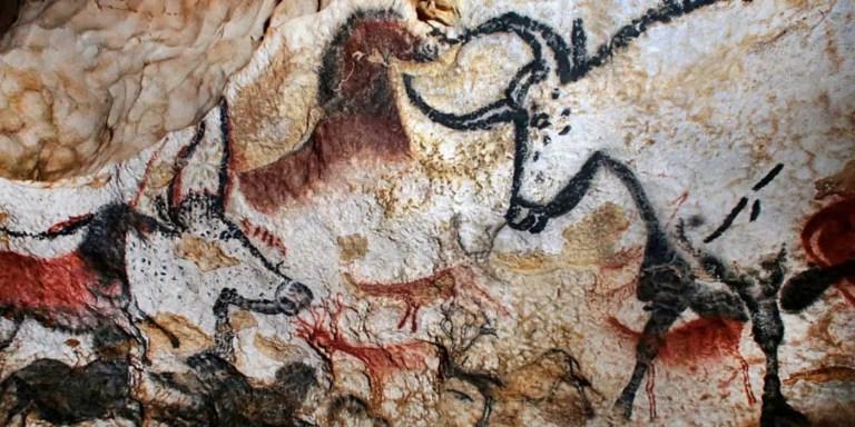 Pinturas rupestres.