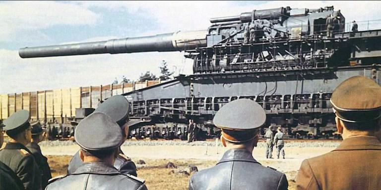 Schwerer Gustav, la artillería más grande de la historia. El cañón tren