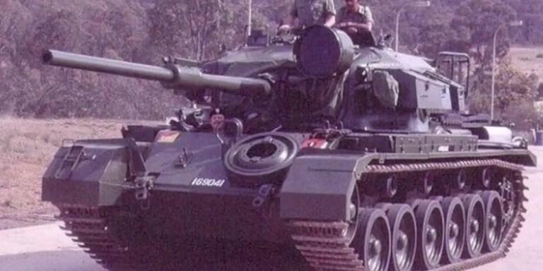 El tanque de guerra que resistió una explosión nuclear