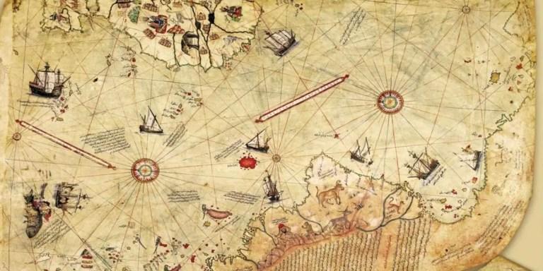 El mapa de Piri Reis, y el descubrimiento de América