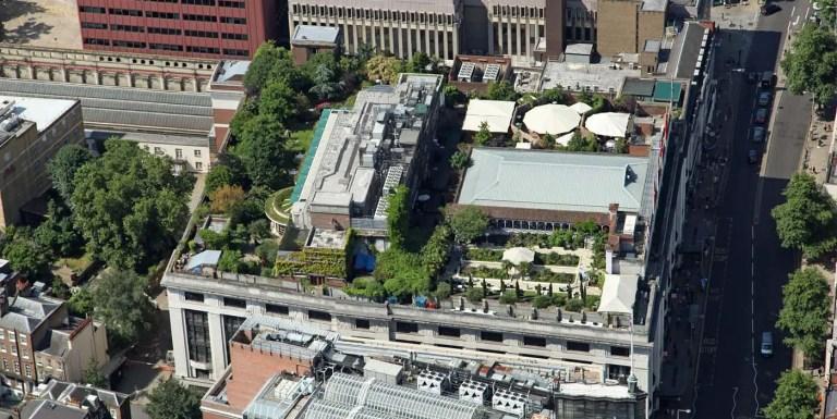 Techos verdes, los mejores edificios con jardines en azoteas