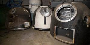 Cementerio de capsulas espaciales soviéticas.