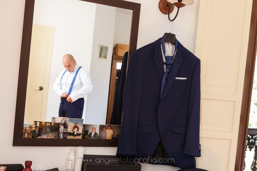 Preparación del novio. Boda Consuelo y David. angeefotografia.com.