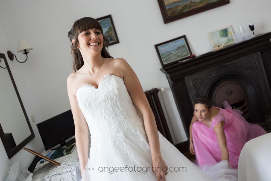 Preparación de la novia en la Quinta del Ynfazón. angeeefotografía.com. Boda Consuelo y David
