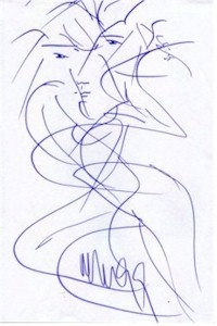 Jean Arp Drawing 5