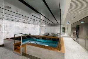 MSC Aurea Spa jacuzzi tub