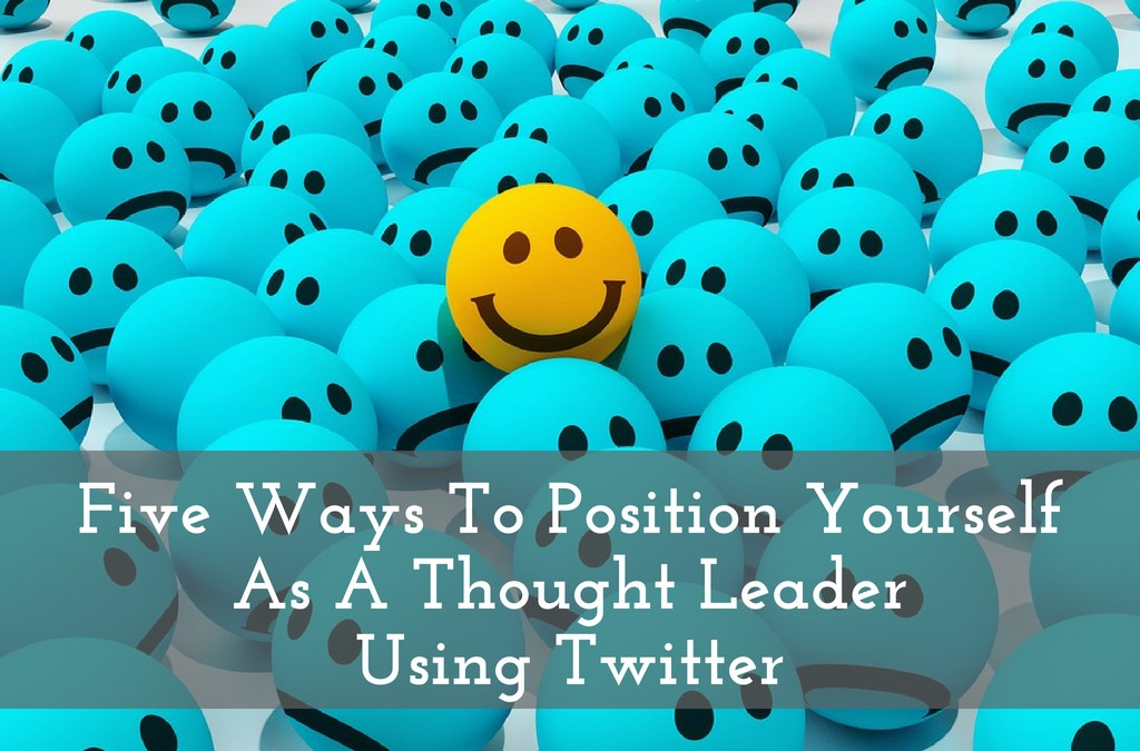 How To Begin Using Twitter For Thought Leadership