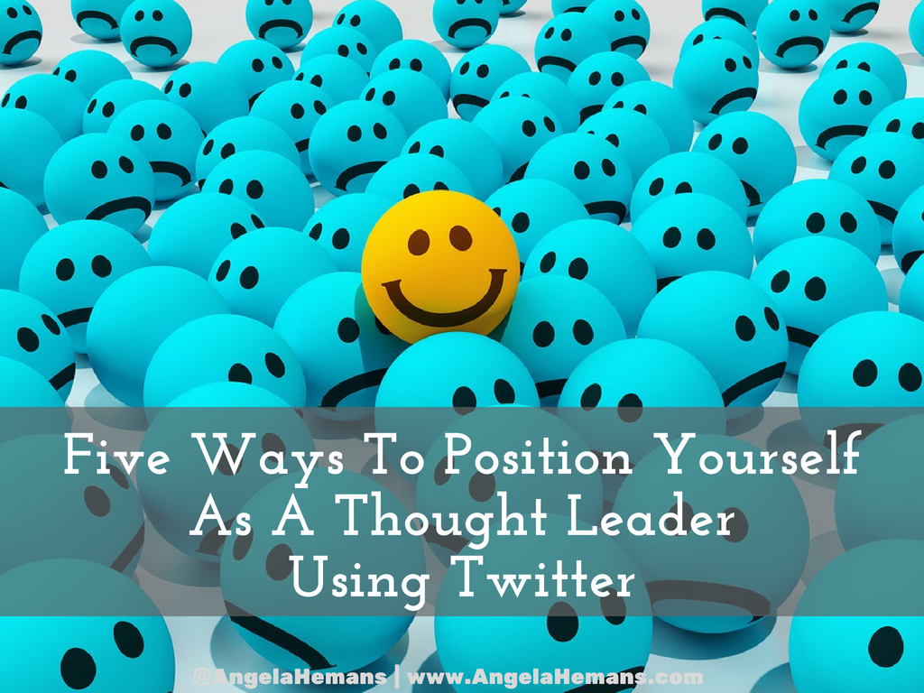 Using Twitter For Thought Leadership