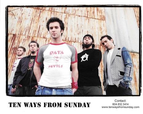 TEN WAYS FROM SUNDAY