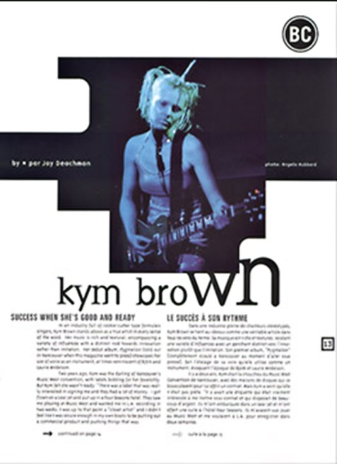 KYM BROWN