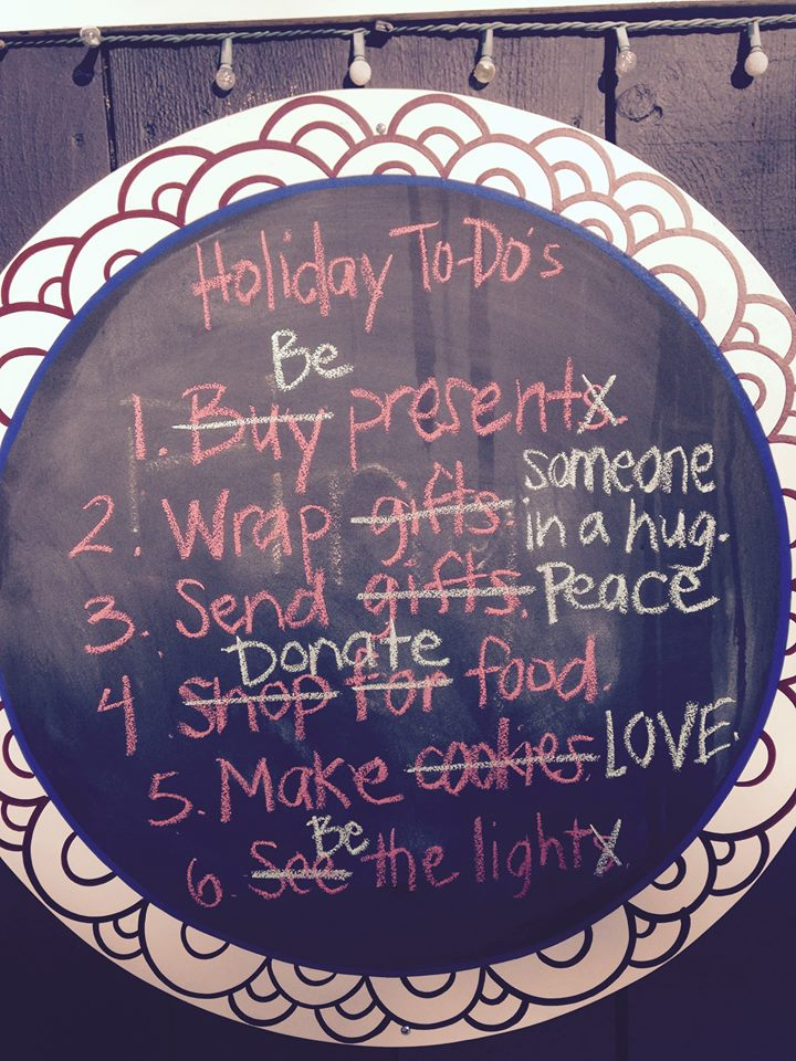 Reality has just collided with the Holiday Season…Advice on what to do next!