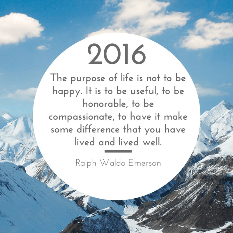 A new kind of goal setting for 2016…
