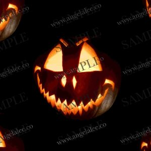 Spooky Halloween pumpkin sample