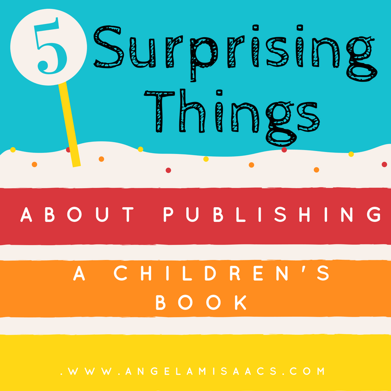 5 Surprising things about publishing a children's book