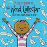 "Book Cover for ""The Word Collector"" by Peter Reynolds"