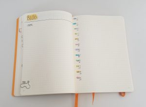 Bullet Journal Collections: My 2019 Blogging Collection
