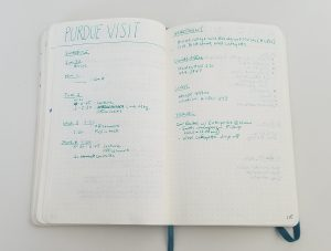 Bullet Journal Collections: An Author Visit collections from my 2018 bullet journal