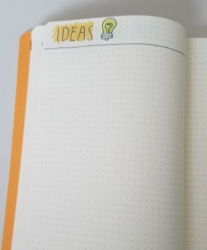 Bullet Journal Collections: Ideas