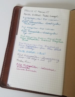 Bullet Journal Collections: Pen Test