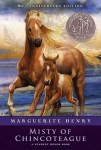 Book cover art: Misty of Chincoteague