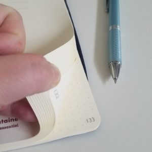 Numbered pages in my Bullet journal