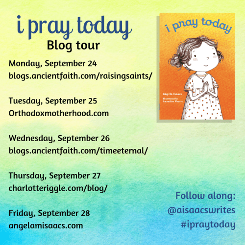 Blog tour for