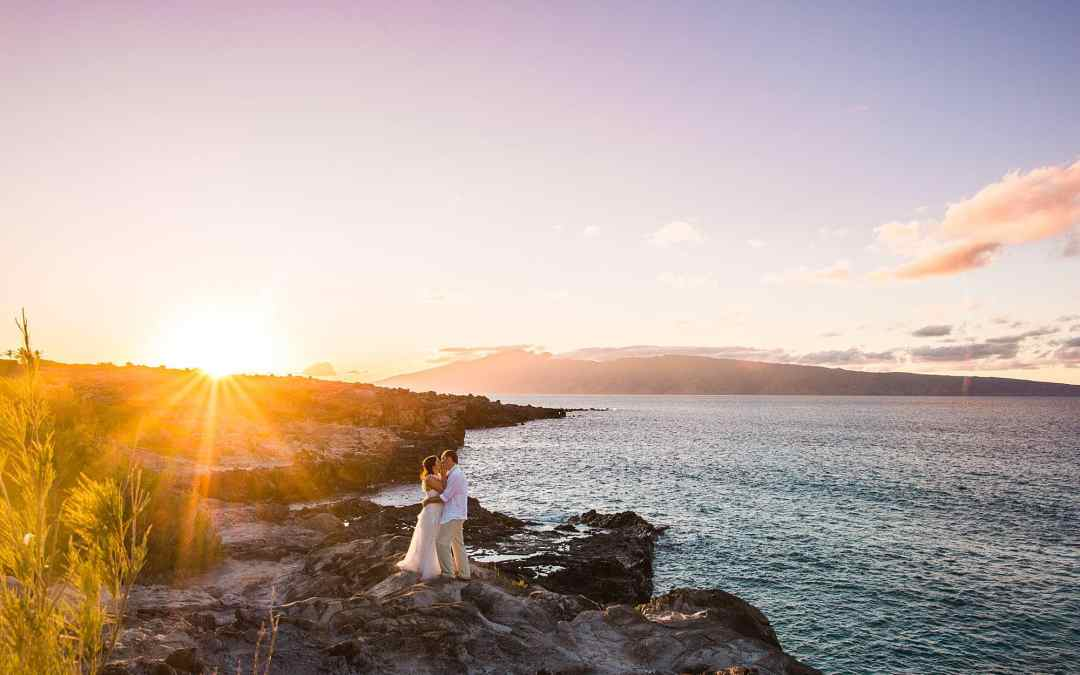 Romantic West Maui Elopement | Sally + Jeff