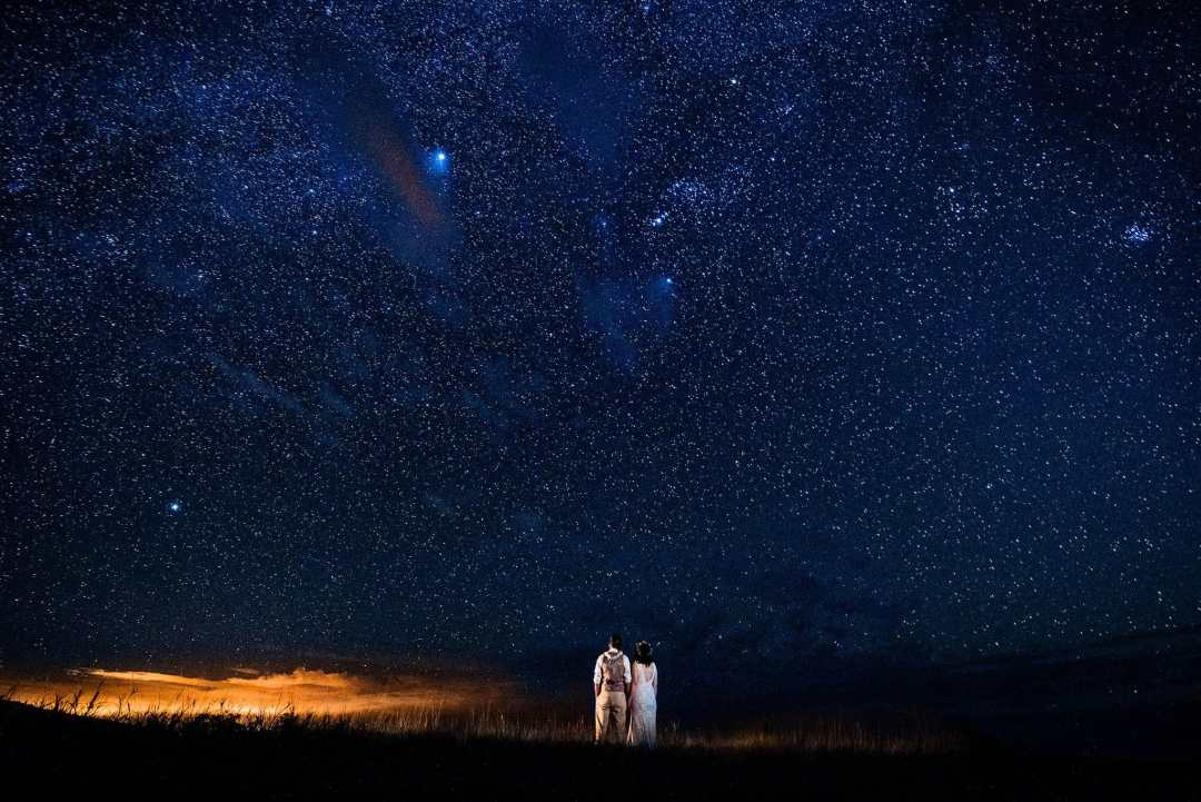 Maui Wedding Photographer - night time sky