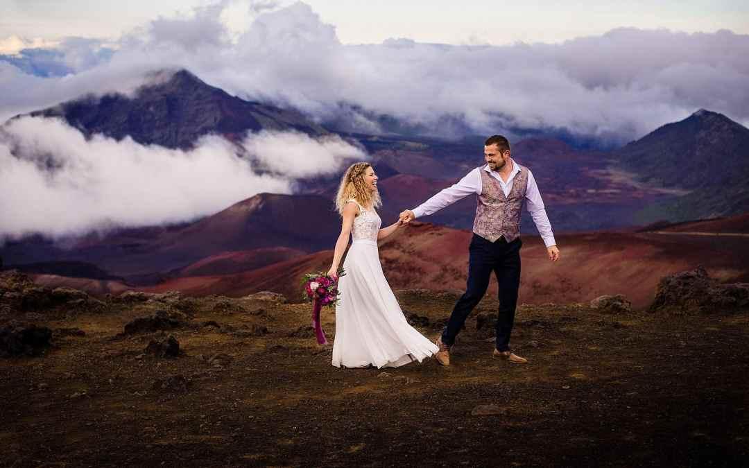 Haleakala Wedding   Lydia + Pascal