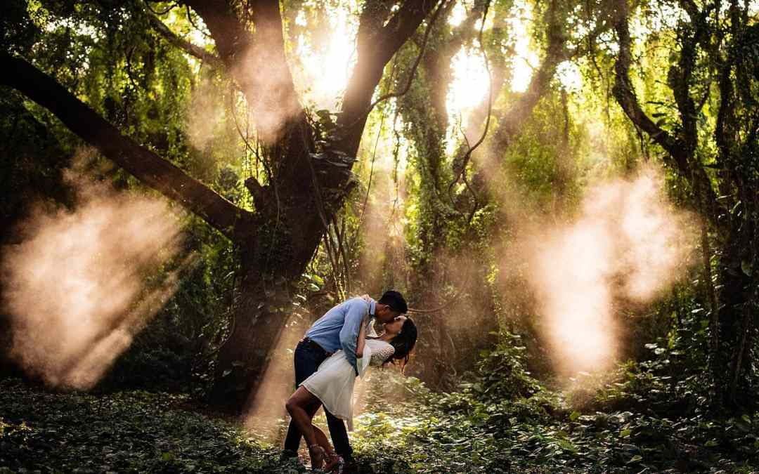 Maui Jungle Engagement Photo Shoot